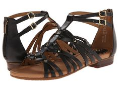 Clarks Viveca Rome Black Leather - Zappos.com Free Shipping BOTH Ways