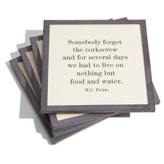 Ben's Garden 'Somebody Forgot' Coaster Set (155 AED) ❤ liked on Polyvore featuring home, kitchen & dining, bar tools, somebody forgot, handmade coasters and square coasters