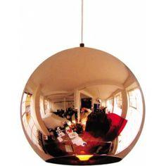 Ik vond dit op Beslist.nl: Tom Dixon Copper Shade hanglamp 25 cm}