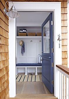 Bay Head Beach Bungalow || Blue Door & Cedar Shingles || Chango & Co.