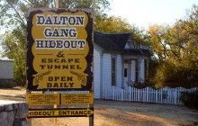 The Dalton Gang Hideout Meade, Kansas- Great Grandmother's birthplace Dalton Gang, Old West Outlaws, Famous Outlaws, Wild West, Weekend Getaways, Kansas, Museum, Ghost Towns, South Dakota