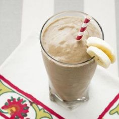 AIP Chocolate Protein Smoothie from He won't know it's paleo.