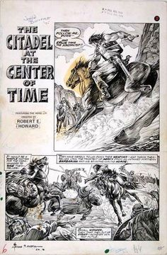 Savage Sword of Conan - Issue #7 - Page 6 - Pencils: John Buscema - Inks: Alfredo Alcala