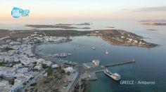 The port @ Antiparos island , Greece !!!
