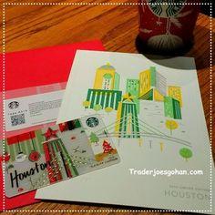 Starbucks Gift Card Houston | #Starbucks #GiftCard #Houston #card #スタバ #スターバックス #ギフトカード