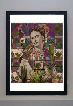 East End Prints - Frida Kahlo, €25,74 (http://www.eastendprints.co.uk/frida-kahlo/)