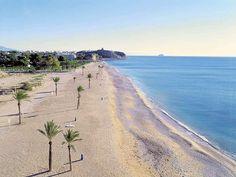 Villajoyosa. Playa