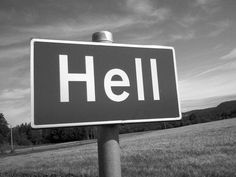 Highway to Hell road sign I Hate Liars, Cultural Criticism, Better Off Dead, Sign Fonts, Just Like Heaven, Capricorn Moon, Highway To Hell, Street Signs, Getting To Know