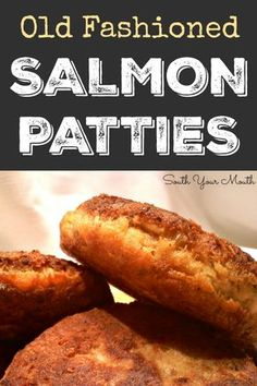 Classic Salmon Patties (or Salmon Croquettes) pan fried until golden brown and delicious!Classic Salmon Patties (or Salmon Croquettes) pan fried until golden brown and delicious! Fried Salmon Patties, Salmon Patties Recipe, Pan Fried Salmon, Canned Salmon Patties, Southern Salmon Patties, Baked Salmon Croquettes Recipe, Easy Salmon Patties, Salmon Patties With Crackers, Fish Patties