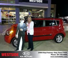 #HappyAnniversary to Grace Kirkhart on your 2011 #Kia #Soul from Rubel Chowdhury at Westside Kia!