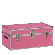 Charmant Dorm Sticker Trunk, Pink, Cute For Storage Of All Her Stuffed Animals, Etc.