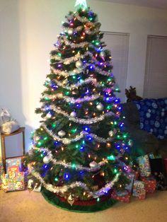My Christmas tree last year (2011)!