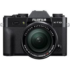 Fuji X-T10 Digital Camera with 18-55mm XF Lens - Black