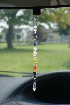 Car Rear View Mirror, Car Mirror, Car Hanging Accessories, New Drivers, Good Energy, Etsy Crafts, Handmade Products, Retail Therapy, Crystals And Gemstones