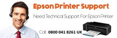 Contact us Toll-Free 0800 041 8261 Epson Printer Support UK