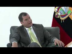 Rafael Correa pone contra el piso a la BBC