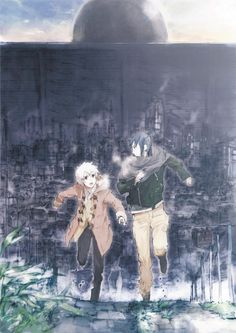 Shion & Nezumi | No. 6 #anime
