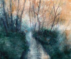 Yoshiyuki Kubo 2014 #tree #landscape #art