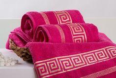 Froté ručník ATHÉNA - fuchsiová 50x90 cm