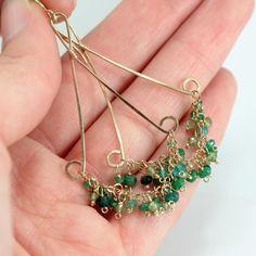 trapeze earrings