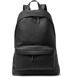 BalenciagaLeather Backpack