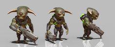 ArtStation - Chibi Aliens, Robert Zamber