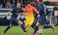 Player Ratings: Paris Saint-Germain 3-2 Barcelona
