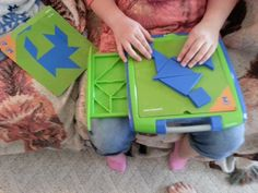 Tangoes JR is the perfect tangram puzzle for young minds and hands! Tangram Puzzles, Single Player, Den, To My Daughter, Games, Gaming, Toys