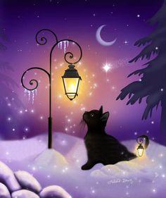 """Winter Twilight"" par Melissa Dawn"