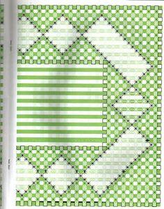 Gráfico bordado