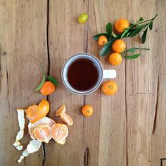 pretty oranges via heath ceramics
