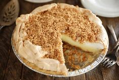 This recipe for my No-Bake Peanut Butter Cream Pie combines fresh, real whipped cream, peanut butter, and cream cheese in a creamy filling, but the real star is the crust made with Nutter Butter cookies and crushed peanuts! Kinds Of Pie, Peanut Recipes, Custard Filling, Meringue Pie, Cookie Pie, Butter Pie, Creamy Peanut Butter, Vintage Recipes, Food Print