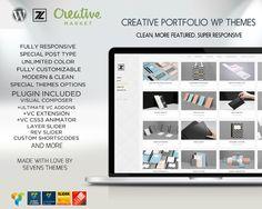 POETFOLIO-Modern Portfolio Wp Themes by SyahZero on Creative Market
