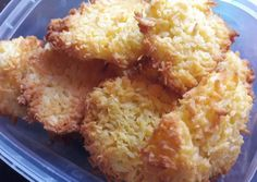 Diétás kókuszos keksz recept foto