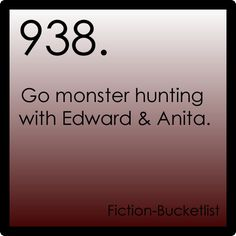 So this isn't a book, but it's about my favorite line of books....Anita Blake: Vampire Hunter