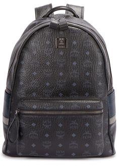 Stark medium black monogrammed backpack - New In 3aca956b91a