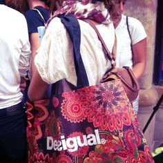 What's inside the Desigual bag?