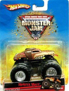 MONSTER MUTT Hot Wheels 2008 Monster Jam #52/70