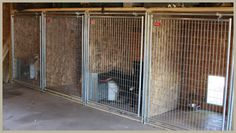 Dogs Houses - How to Easily Set-Up Your Dog Kennel for Over Twice the Useable Size Puppy Kennel, Dog Kennel Cover, Diy Dog Kennel, Dog Kennels, Kennel Ideas, Dog Kennel Inside, Dog House Heater, Building A Dog Kennel, Dog Boarding Kennels