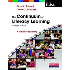 Best Practices 4 Teaching--Sharing Educational Successes: Continuum of Literacy Correlation with CCSS