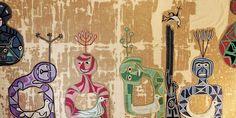 Contra la Guerra, la obra inédita con la que el Museo Violeta Parra abre sus… Arte Popular, Textiles, Chile, Embroidery, Stitch, Canvas, Projects, Painting, Inspiration