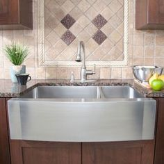 "42"" Scranton Stainless Steel 60/40 Offset Double Well Wave Apron Farmhouse Sink Handmade Sink"