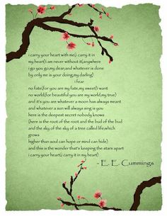 """First heard this poem in the movie """"In Her Shoes."""" <3"""