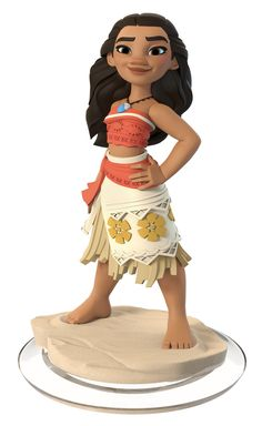 Moana - Disney Infinity Toy Sculpt, Matt Thorup on ArtStation at https://www.artstation.com/artwork/ZzJkN