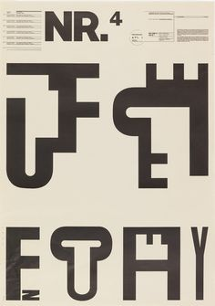 Ellen Lupton's top ten favorite typographic posters of all time | Typorn.org