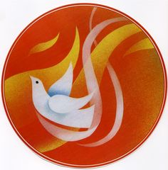 """The dove descending breaks the air With flame of incandescent terror Of which the tongues declare The one discharge from sin and error. The only hope, or else despair Lies in the choice of pyre or pyre— To be redeemed from fire by fire. ...from """"Four Quartets"""", T.S. Eliot"""