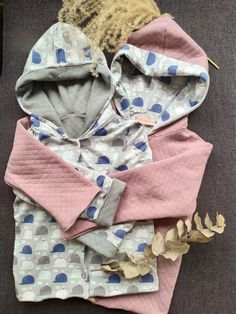 Nothing is cuter than matching sibling outfits. Piece Of Clothing, Kids Clothing, Handmade Baby, Convertible, Hooded Jacket, Hoods, Kids Outfits, Sibling, Stylish