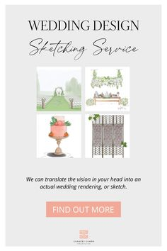 Are you a bride or groom with a wedding design vision in your head but you're having trouble describing exactly what you want to your wedding vendors?  We are here to help with our wedding design concept sketching service! We will turn your wedding design ideas and wedding inspiration into a sketch and digital rendering to share with your vendors so they will be able to fully understand, and execute your vision perfectly.  #weddingdesign #weddingdesignideas Wedding Coordinator, Wedding Planner, Destination Wedding, Wedding Vendors, Our Wedding, We Are Love, San Diego Wedding, Wedding Designs, Wedding Inspiration