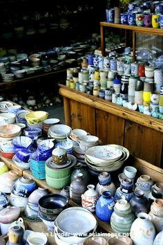 Japanese pottery and porcelain. In Kyoto and other cities they have Temple Sales. That's like a flea market. Pick up great pottery, books, antiques, fabric, kimonos....