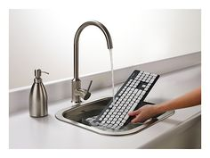Washable keyboard ...